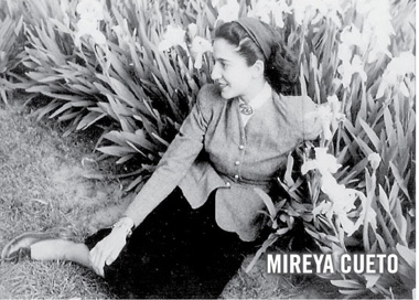 Homenajo Mireya Cueto.
