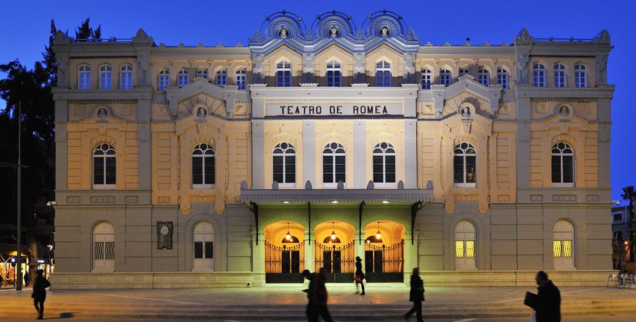 Teatro Romea de Murcia.