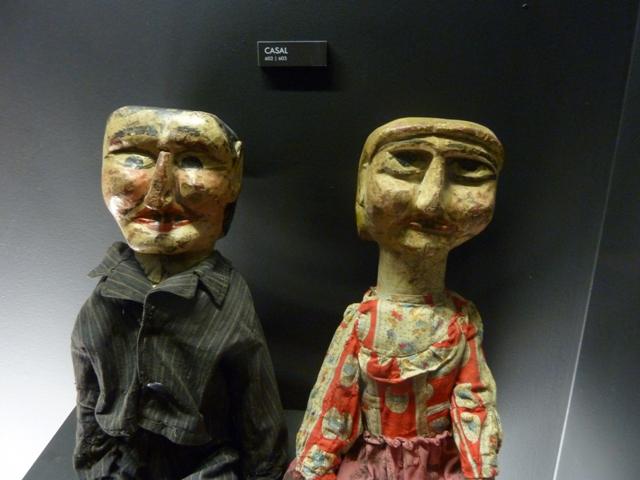 Casal, títeres de Faustino Duarte