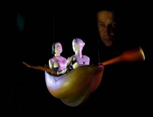 Curso con Stephen Mottram en el Museo-Taller de Títeres de Pola se Siero