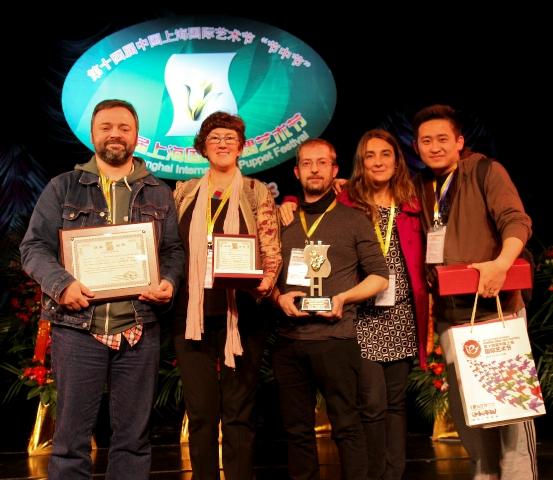Premios Shangai a Marionetàrium