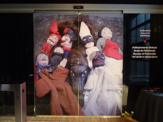 Exposición Rutas de Polichinela en el TOPIC de Tolosa