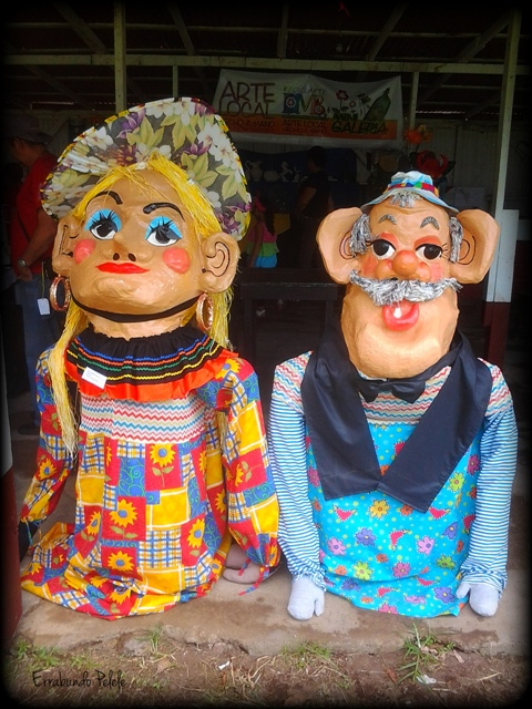 Máscaras Costa Rica