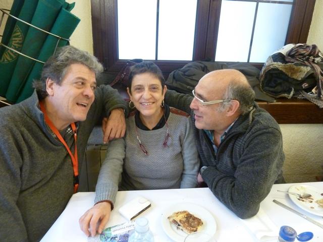 Eugenio, Pilar y Paco