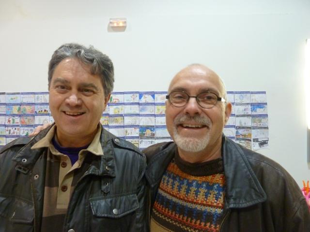 Angel Casado y Omar García