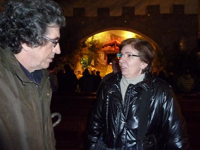 Adolfo Ayuso y Clara Ajamil
