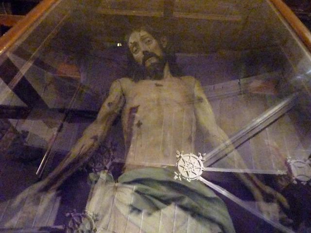Cristo articulado de Laguardia