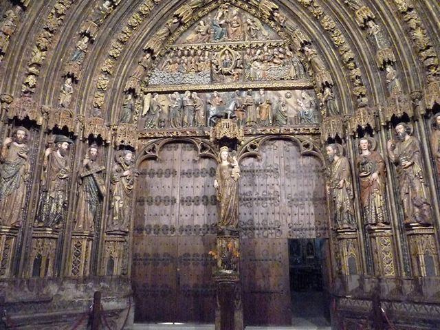 Pórtico gótico Laguardia
