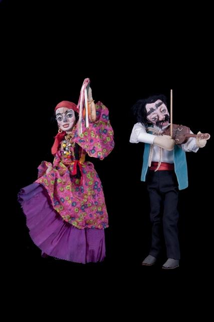 Variedades (1961). Teatro de Marionetes. Direção de Antônio Carlos de Sena. Foto de Fred Ruschel