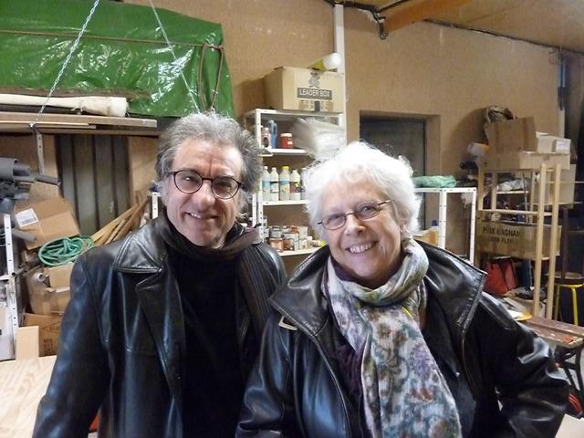 Joëlle Noguès y Giorgio Pupella