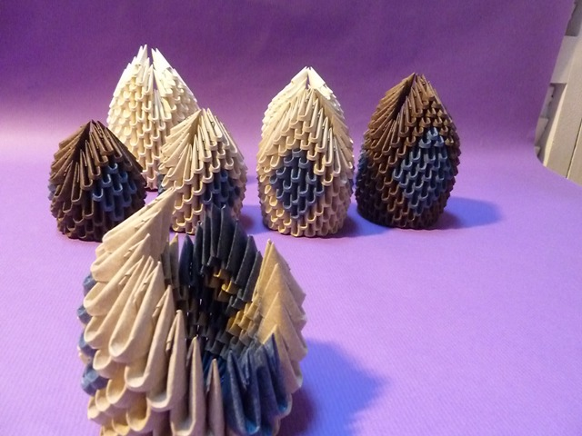 Origami modular, Alicia Pueyo