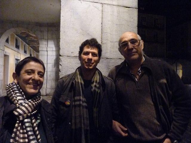 Nestor Navarro, Pilar Amorós y Paco Paricio