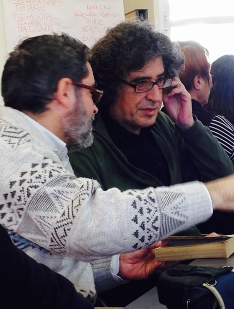 Paco Cornejo y Adolfo Ayuso