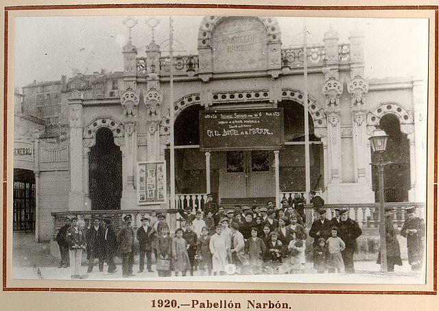 Pabellón Narbón, en Santander.