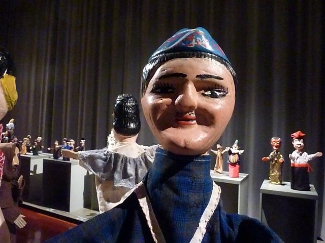 Museu da Marioneta, Robertos