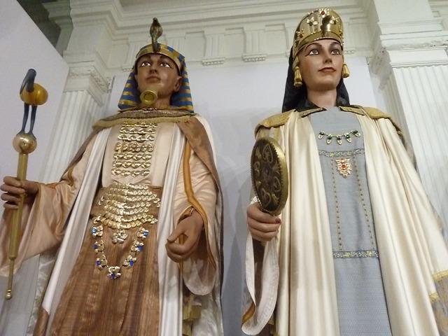 Gegants de Lleida, Faraons