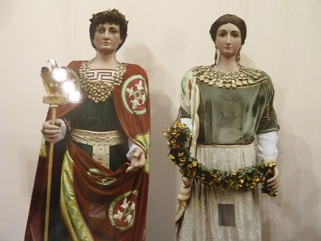 Gegants de Lleida, Romans