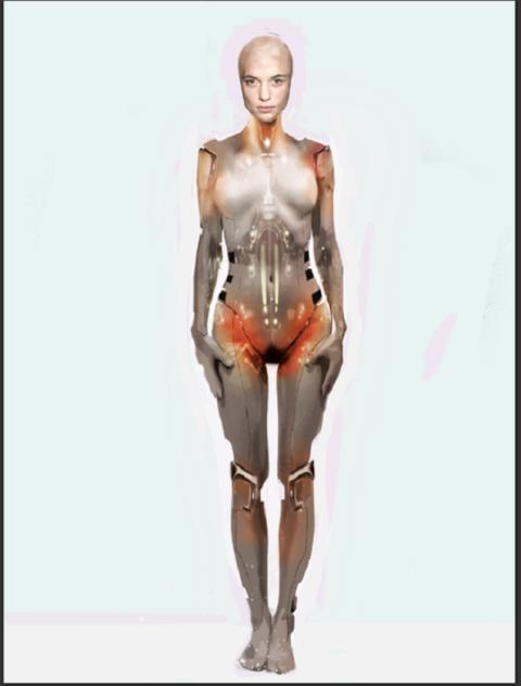 Ex_Machina, Títeres y robots