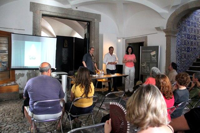 Conferencia en Évora de Toni Rumbau