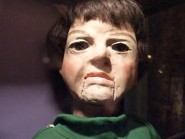 Muñeco ventriloquía Hermanos Roca