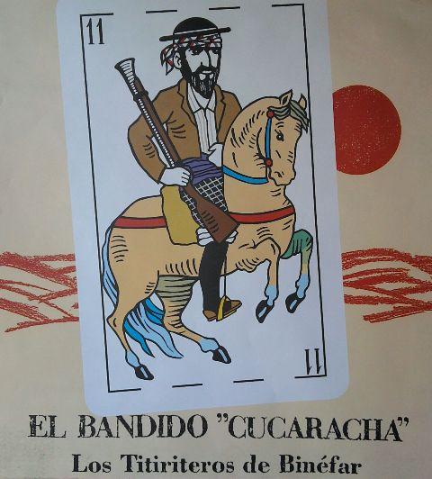 El Bandido Cucaracha, Los Titiriteros de Binéfar