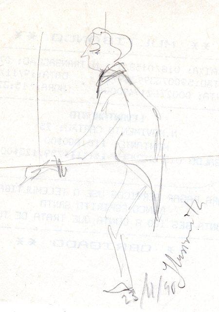 Dibujo de Manuel de Costa Dias