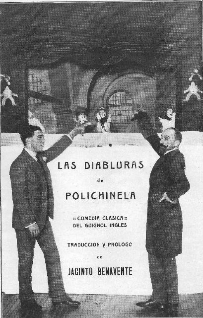 Benavente y Polichinela
