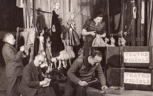 Miembros del Teatro dei Piccoli