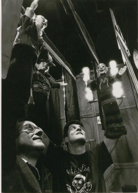 Toni Rumbau y Eugenio Naavarro