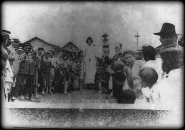 Carnaval de Cartago, 1910, Costa Ruca