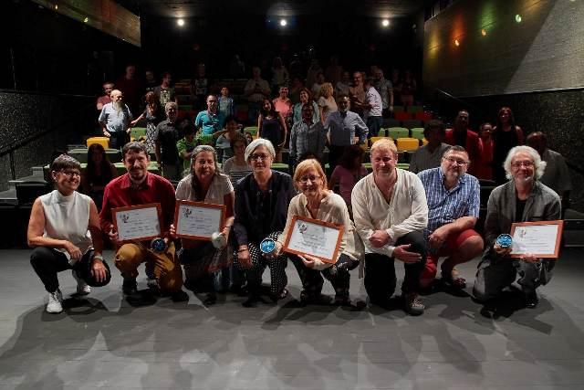 Los agraciados con el Premio Pelegrín