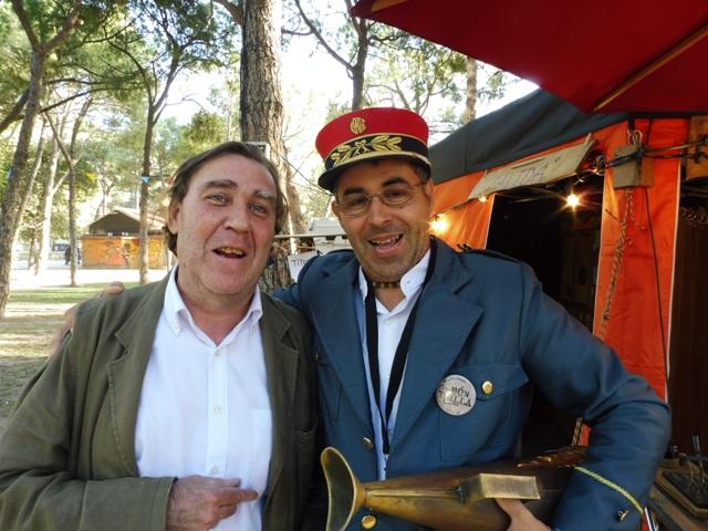 Esteban Villarrocha y Jordi de Galiot