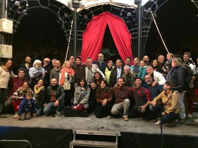 Foto familia, Parque de las Marionetas