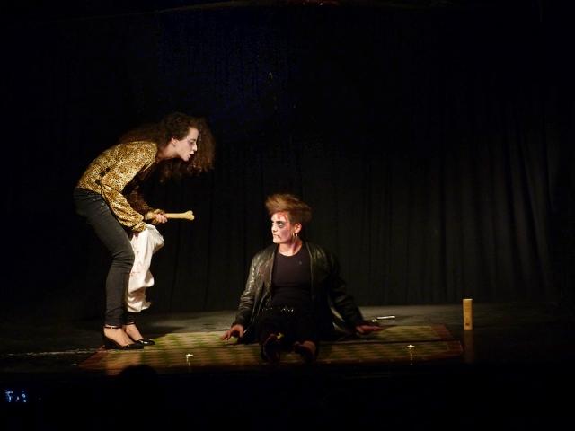 Cabaret del Taller de Marionetas de Pepe Otal, Día de los Muertos