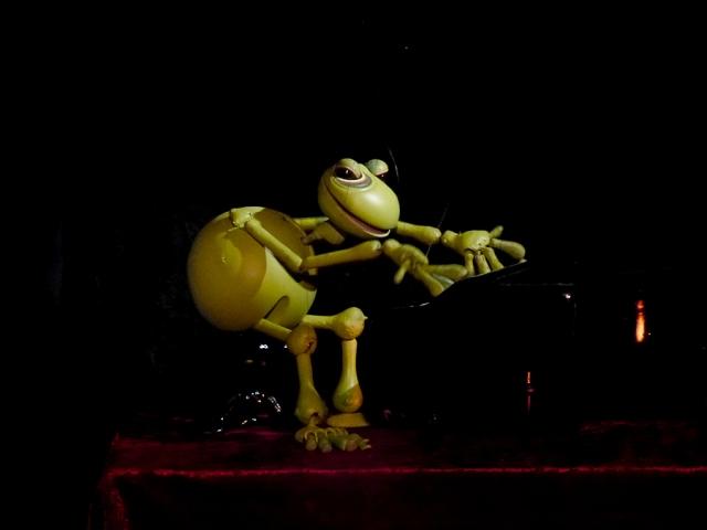 Cabaret del Taller de Marionetas de Pepe Otal, Día de los Muertos, Daniel Loeza