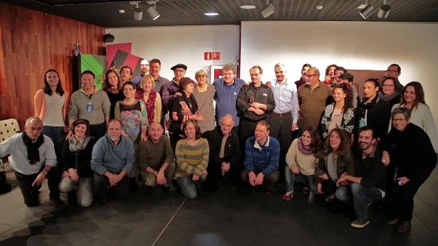 Homenaje del TOPIC a La Fanfarra, 40 años de profesión