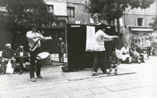 La Fanfarra, 1977, Plaça del Pi