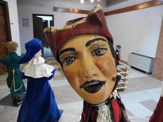 Exposición Strade di Pulcinella, Cordenons, Italia