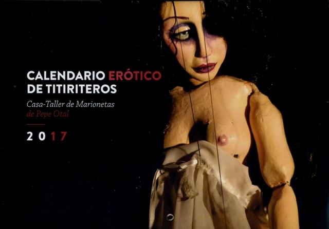 Calendario Erótico de Titiriteros 2017