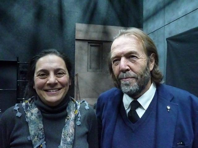 Inés Maroto y Juan Muñoz