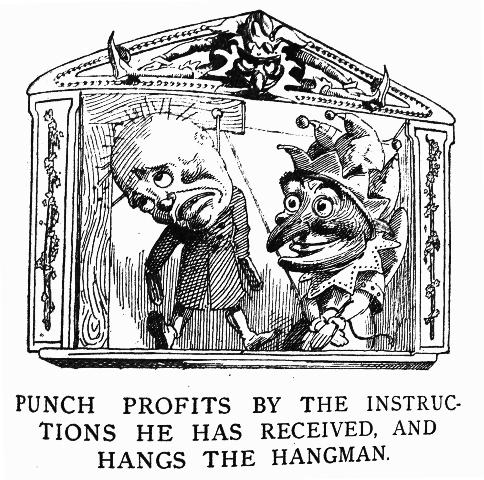 Trump y Polichinela