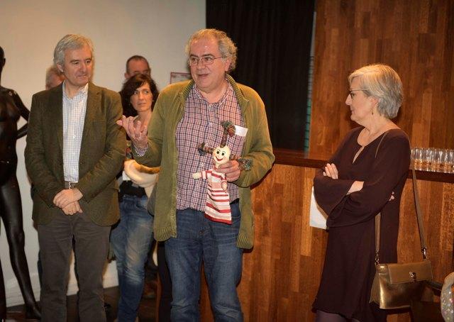 Exposición 'De feria en feria', Barriga Verde en el TOPIC de Tolosa