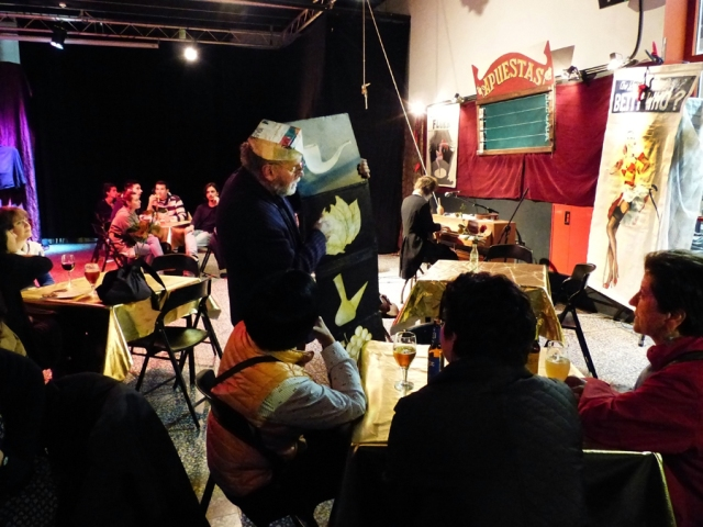 Peep Show, Naked Puppets. El cocotólogo Pep Gómez. Foto de Jesús Atienza.