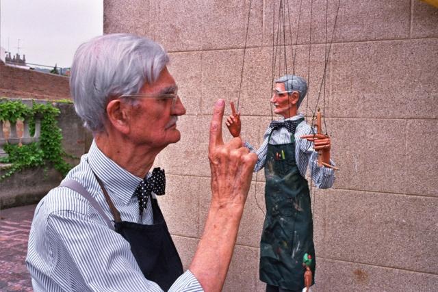 Exposición 'Capturar el aliento', de Jesús Atienza, en el Centre Cultural Albareda de Barcelona