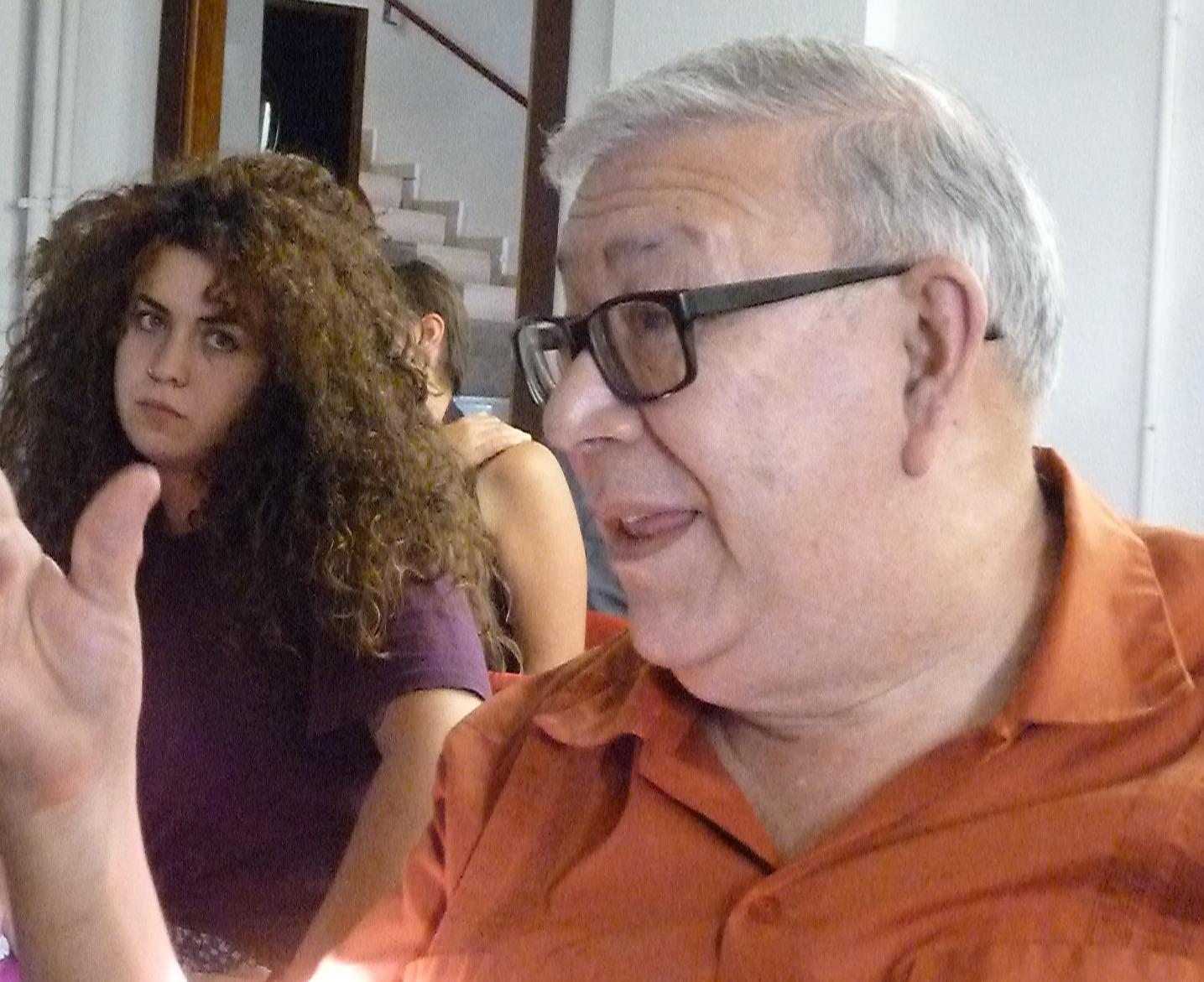 Pablo Medina interviene en el coloquio