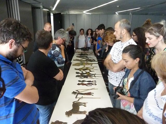 Curso de Restauración, colección de siluetas para Teatro de Sombras de Títeres Etcétera