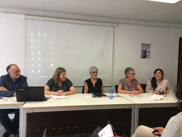 Alfonso Cipolla, Maria José Machado Santos, Idoya Otegui, Céline Bonnot-Diconne y Yanisbel V.Martínez