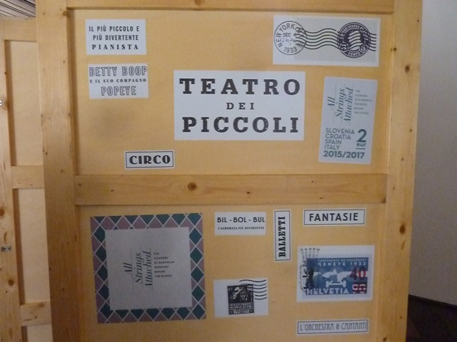 Caja correspondiente a Vittorio Podrecca