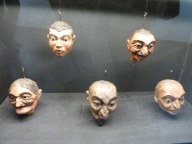Cabezas de Marionetas de Milan Klemenčič
