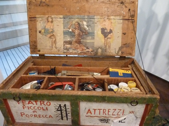 Maleta de Atrezzo de la compañía de Vittorio Podrecca